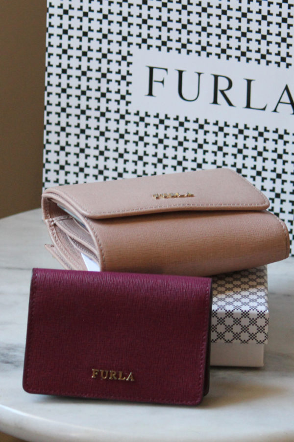 Furla Babylon wallet and card holder